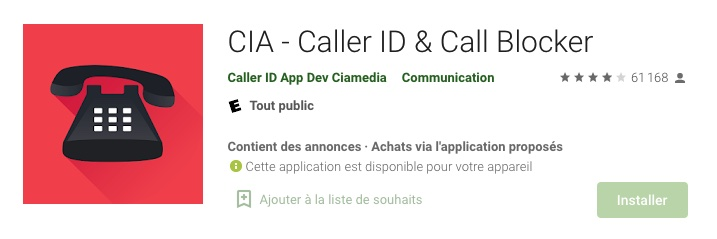 cia application android